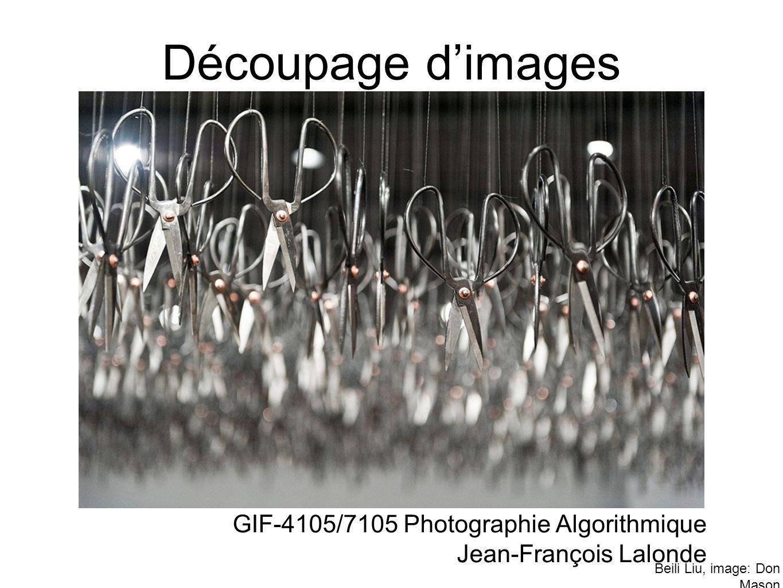 Découpage d'images GIF-4105/7105 Photographie Algorithmique