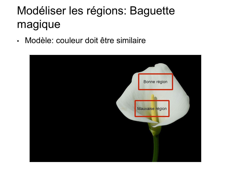 Modéliser les régions: Baguette magique