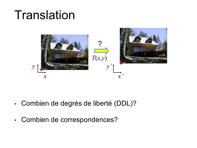 Translation Combien de degrés de liberté (DDL)