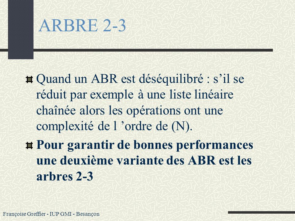 ARBRE 2-3