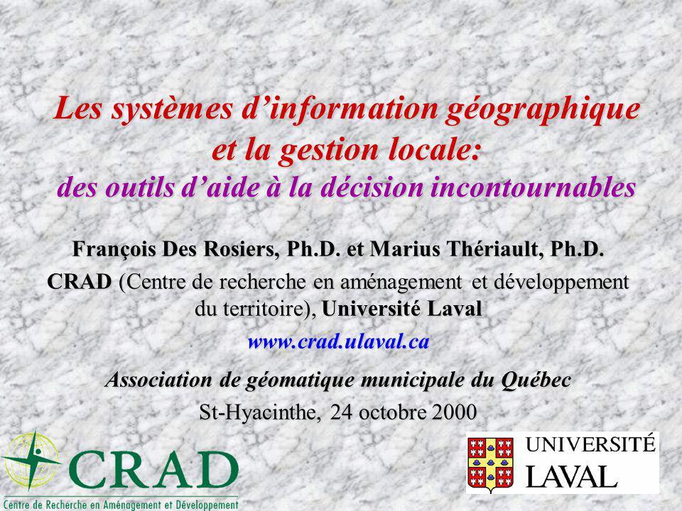 Association de géomatique municipale du Québec