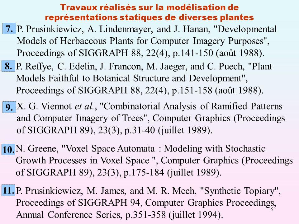 P. Prusinkiewicz, A. Lindenmayer, and J. Hanan, Developmental