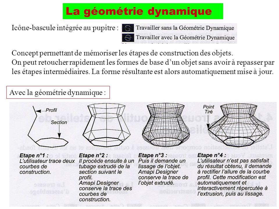 La géométrie dynamique