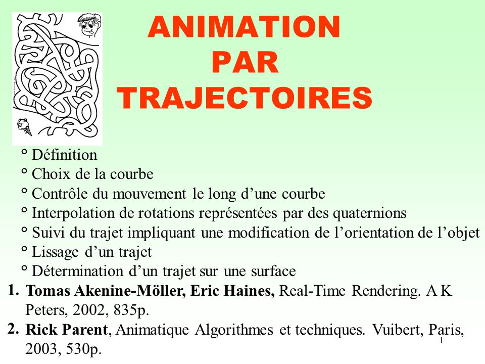 ANIMATION PAR TRAJECTOIRES
