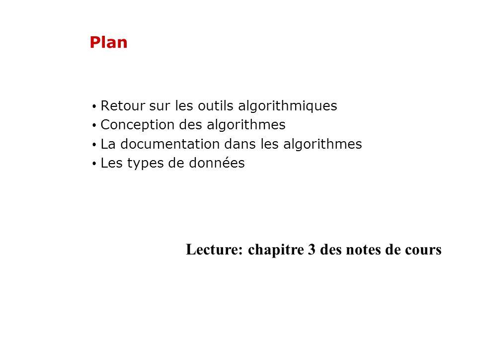 Lecture: chapitre 3 des notes de cours