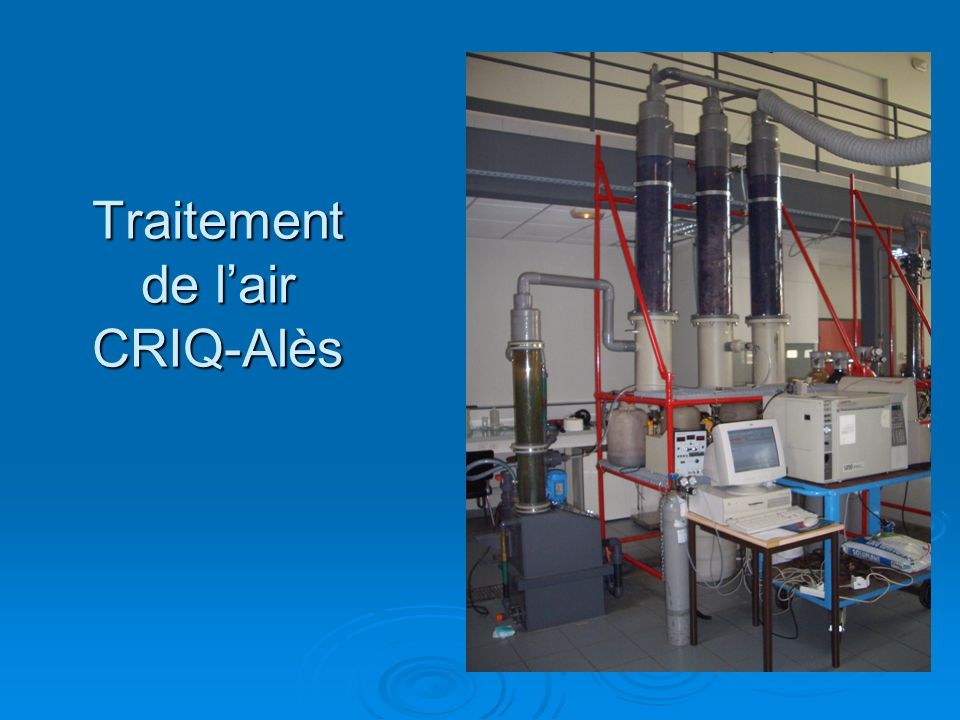 Traitement de l'air CRIQ-Alès
