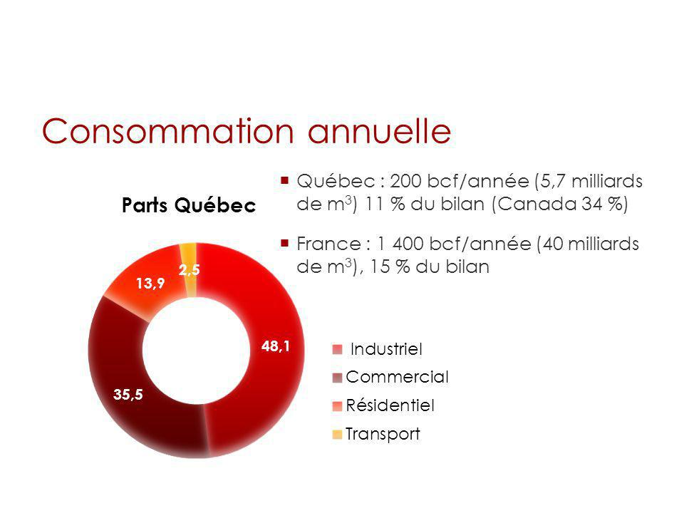 Consommation annuelle