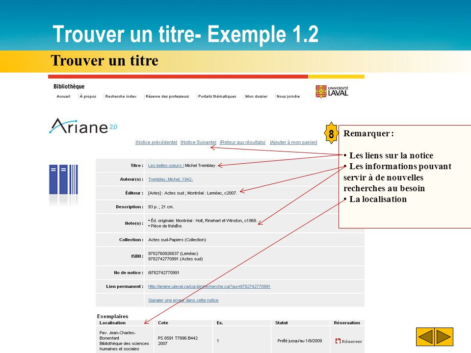 Trouver un titre- Exemple 1.2