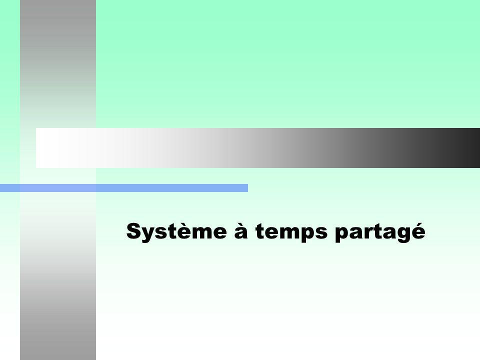 Système à temps partagé