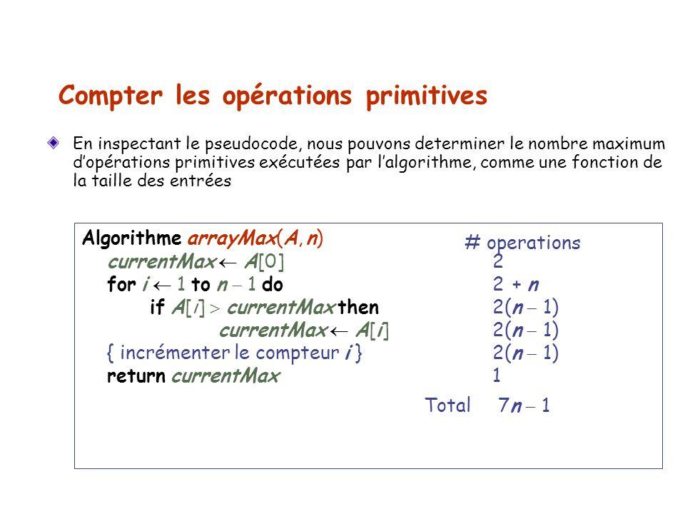 Compter les opérations primitives