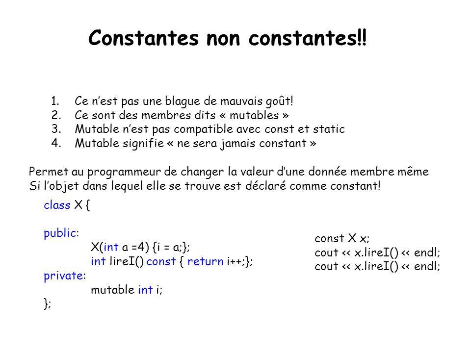 Constantes non constantes!!