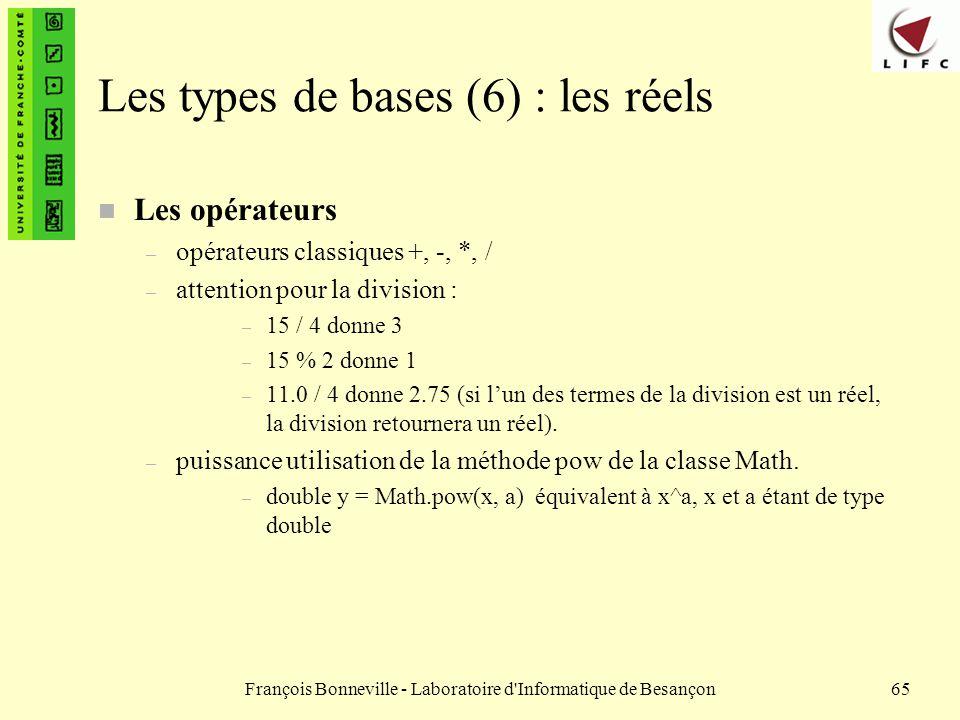 Les types de bases (6) : les réels