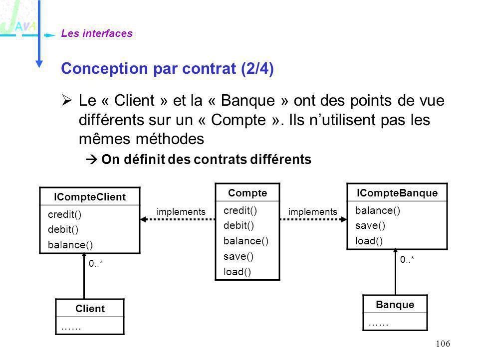Conception par contrat (2/4)