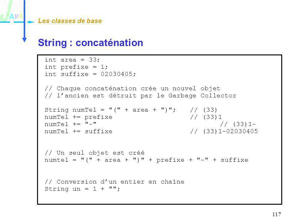 String : concaténation