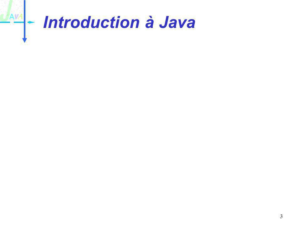 Introduction à Java