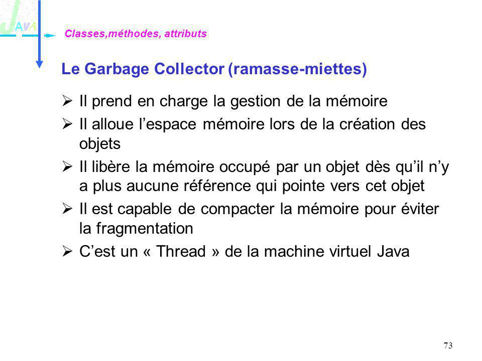 Le Garbage Collector (ramasse-miettes)