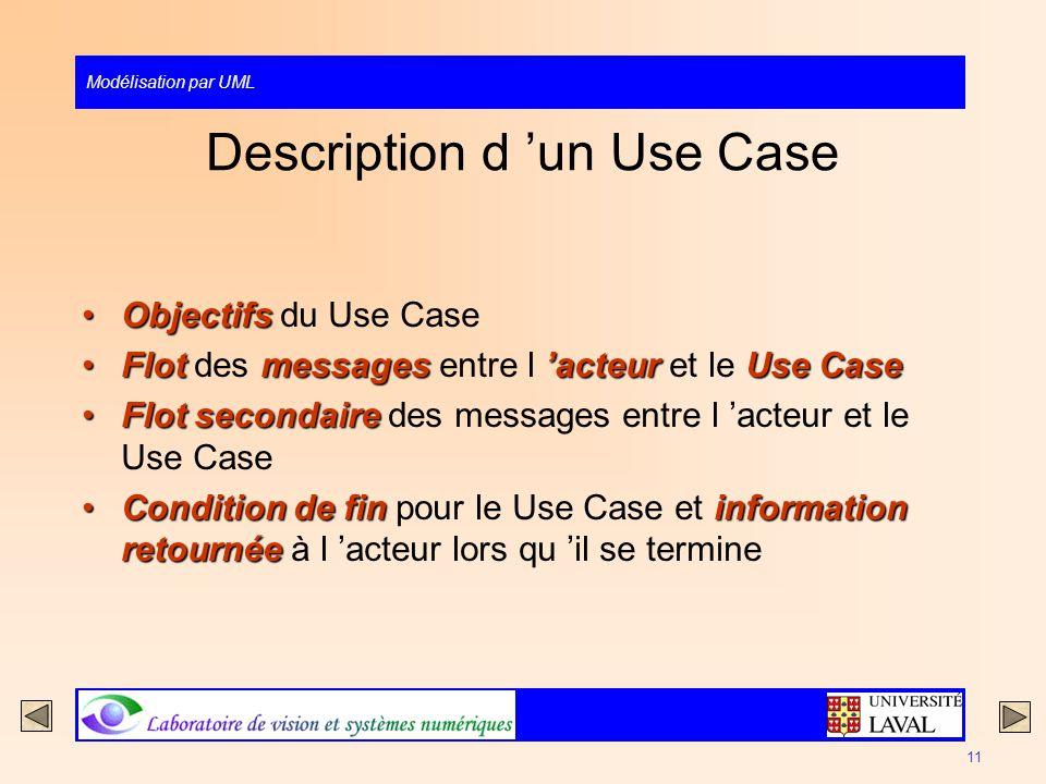 Description d 'un Use Case