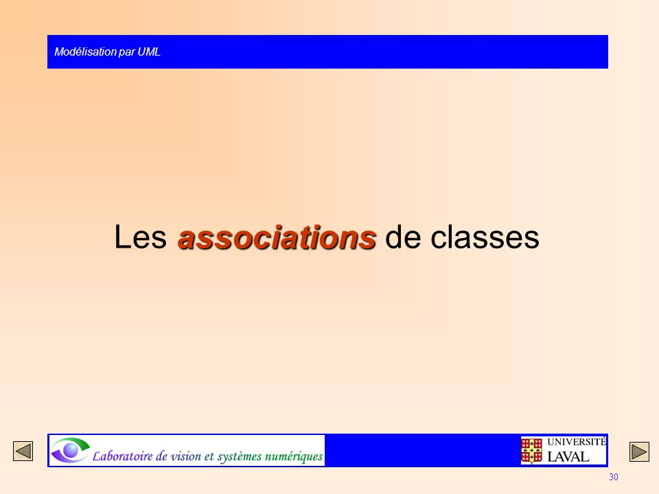 Les associations de classes
