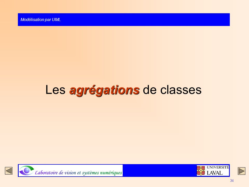 Les agrégations de classes
