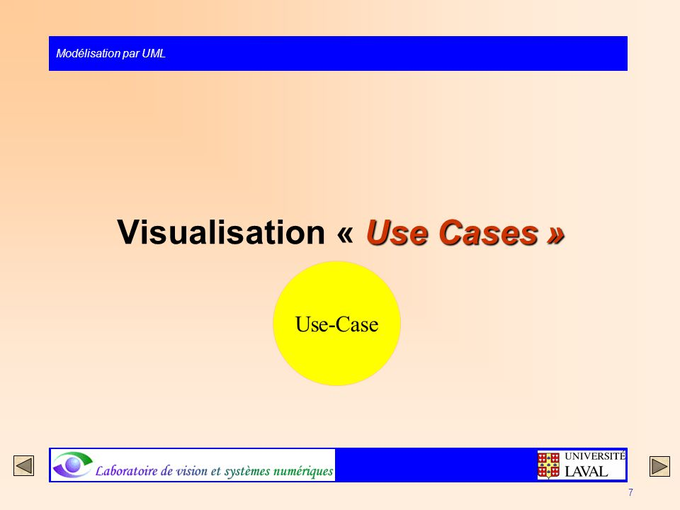 Visualisation « Use Cases »