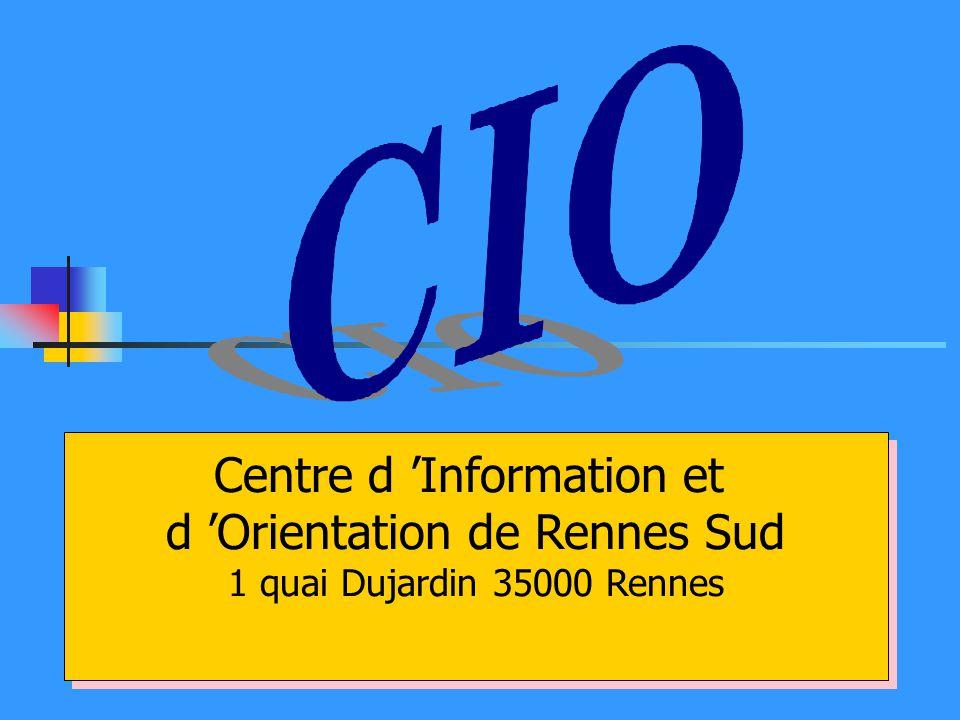 Centre d 'Information et d 'Orientation de Rennes Sud