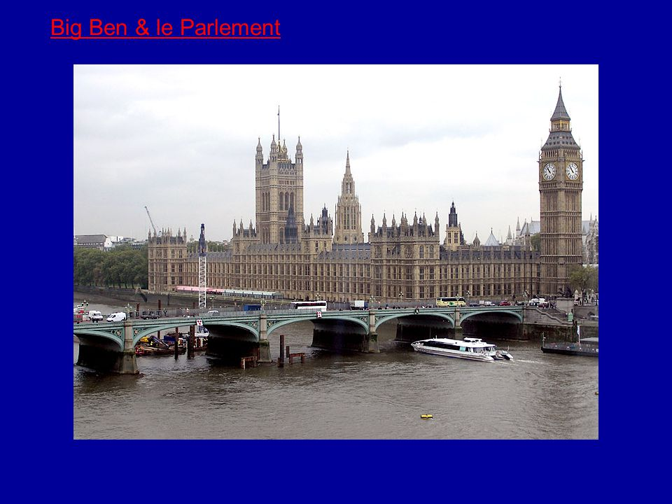 Big Ben & le Parlement