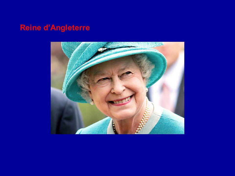 Reine d'Angleterre