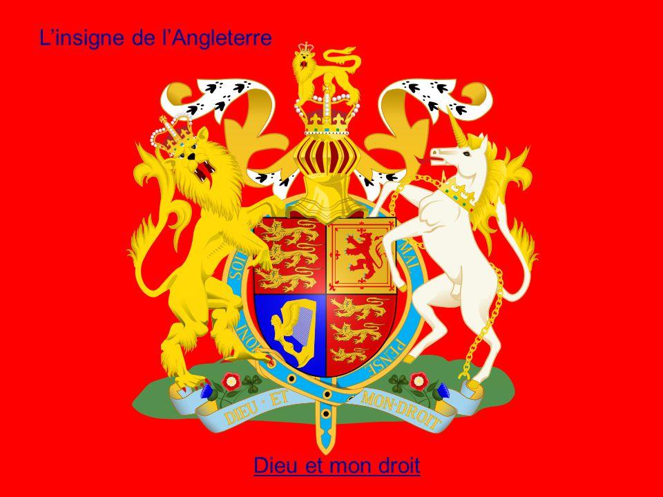 L'insigne de l'Angleterre