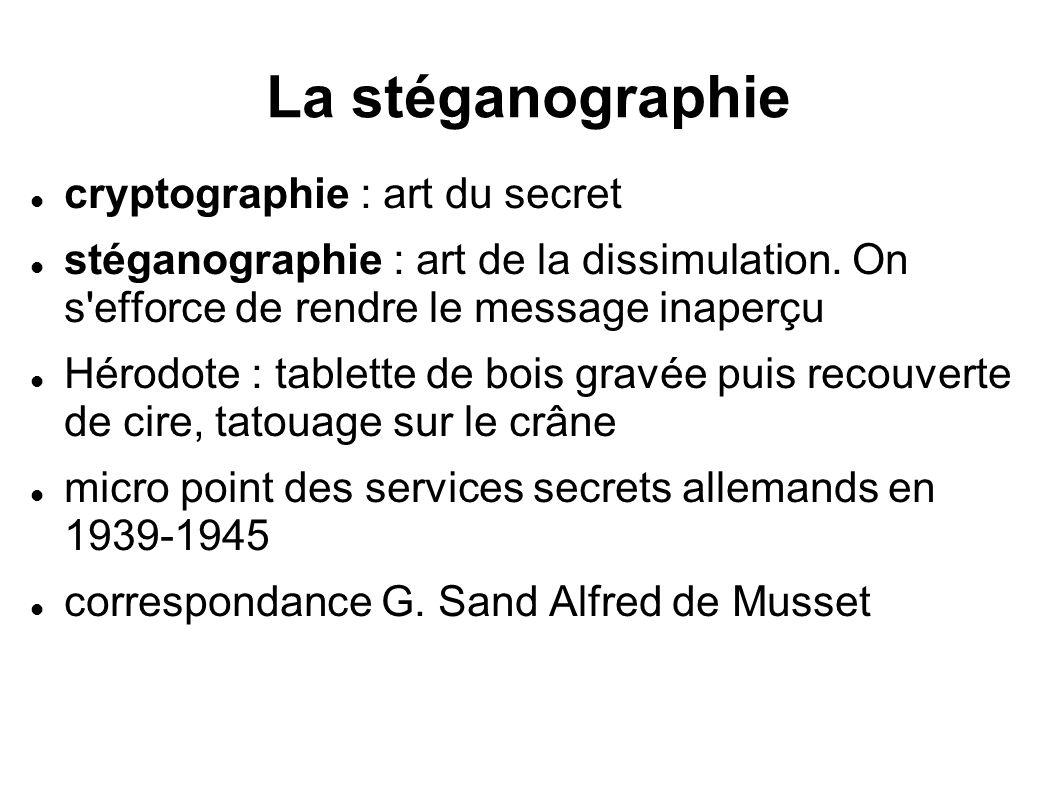 La stéganographie cryptographie : art du secret