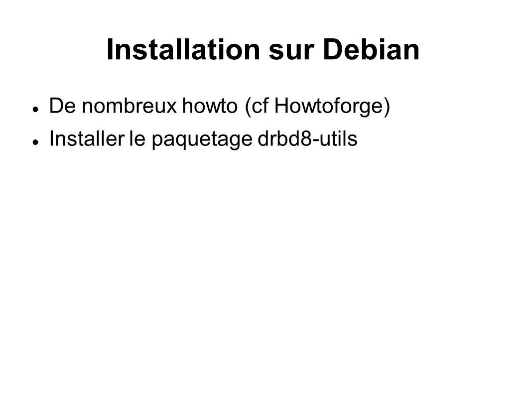 Installation sur Debian