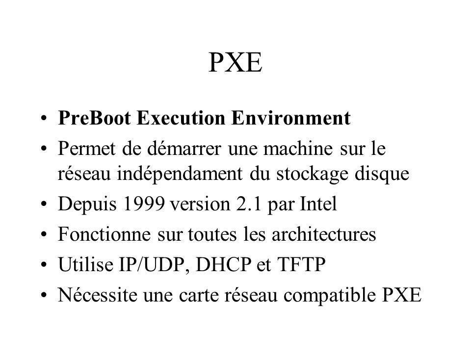 PXE PreBoot Execution Environment