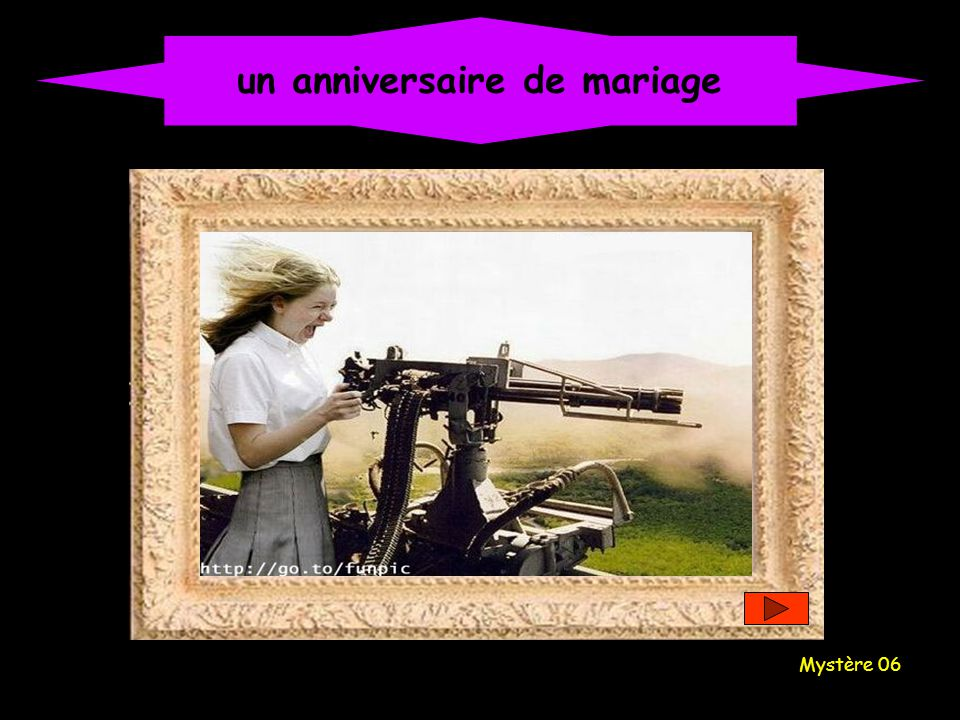 un anniversaire de mariage