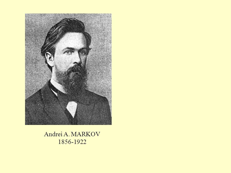 Andrei A. MARKOV 1856-1922