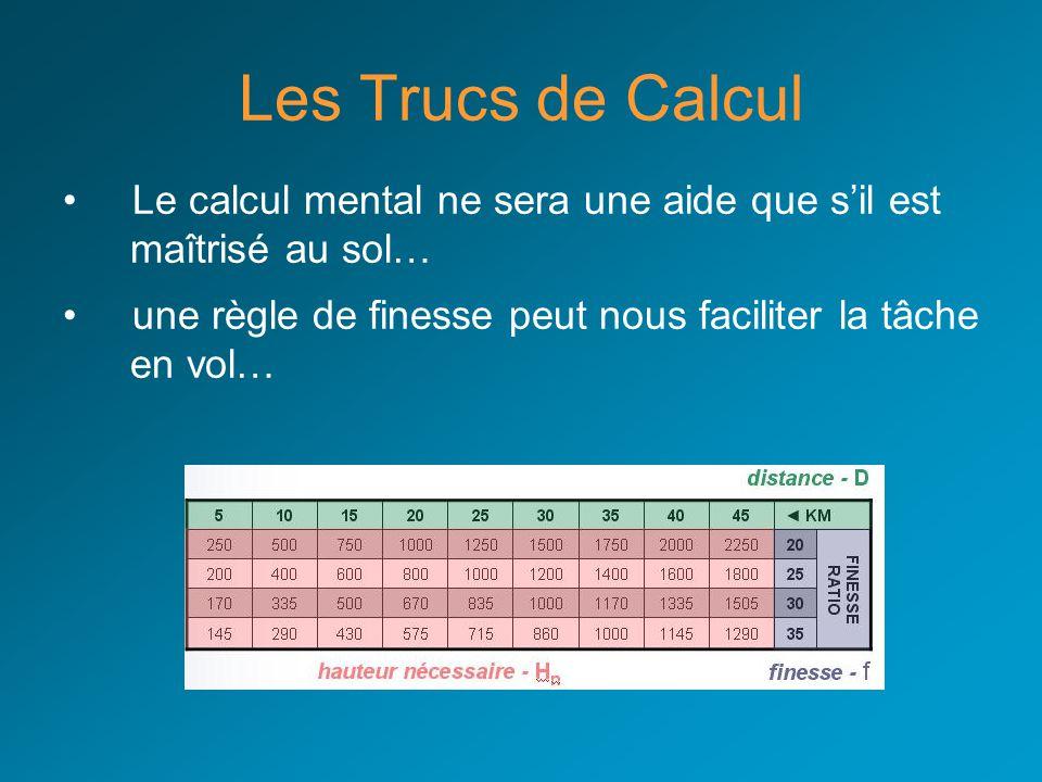 Les Trucs de Calcul Le calcul mental ne sera une aide que s'il est