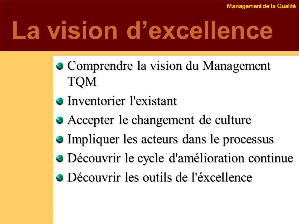 La vision d'excellence