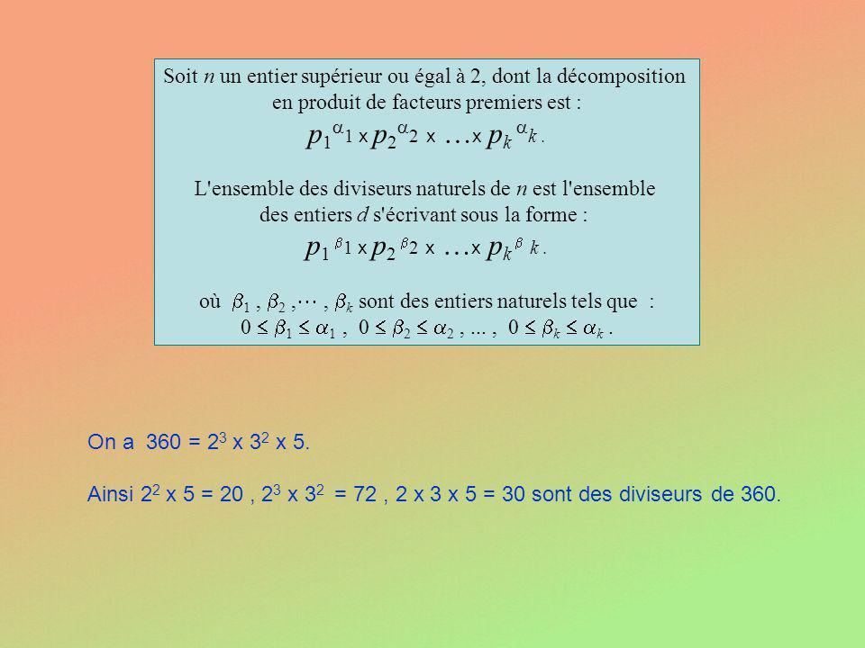 p11 x p22 x …x pk k . p1 1 x p2 2 x …x pk  k .