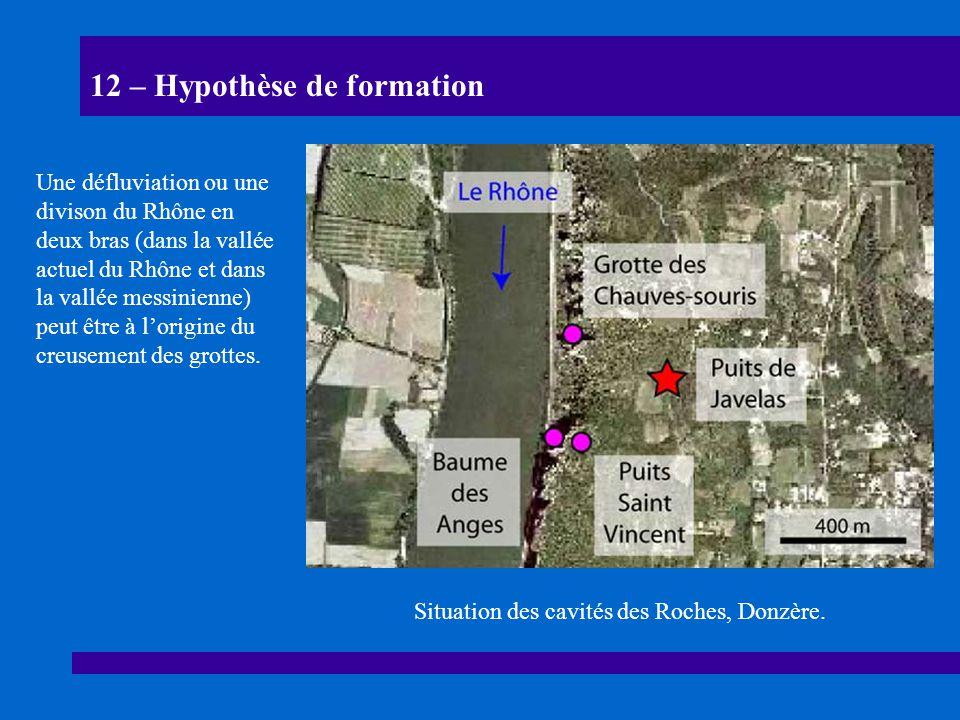 12 – Hypothèse de formation