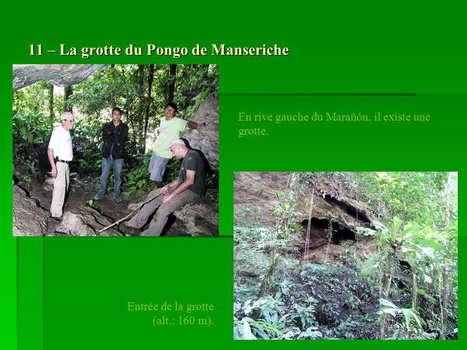 11 – La grotte du Pongo de Manseriche