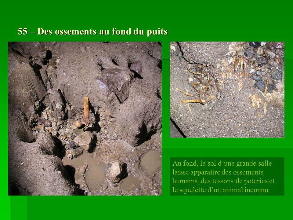 55 – Des ossements au fond du puits
