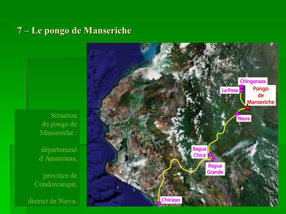 7 – Le pongo de Manseriche
