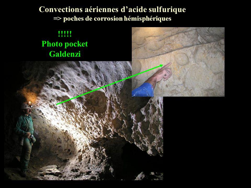Convections aériennes d'acide sulfurique !!!!! Photo pocket Galdenzi
