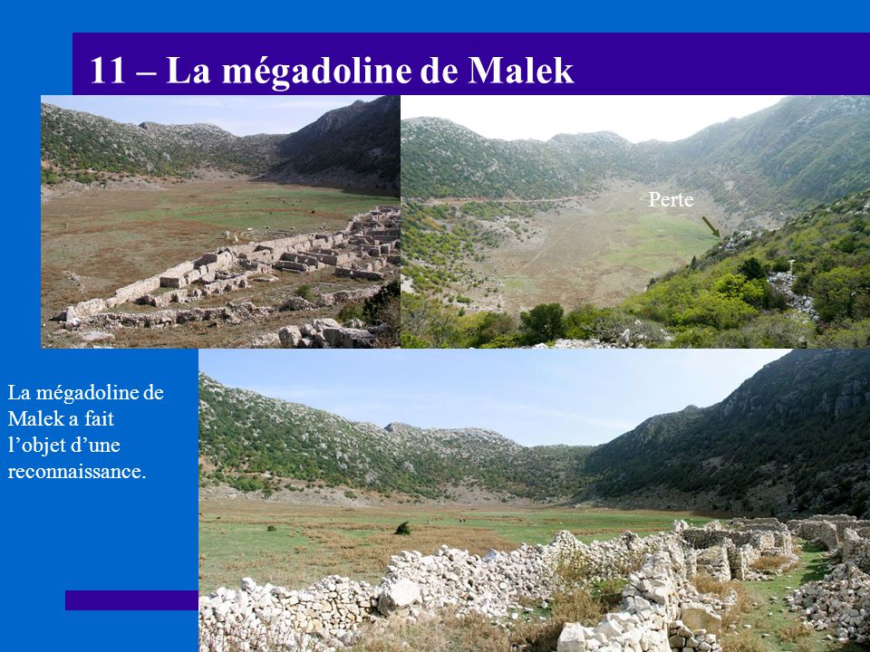11 – La mégadoline de Malek