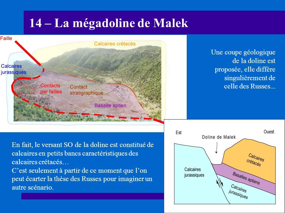 14 – La mégadoline de Malek