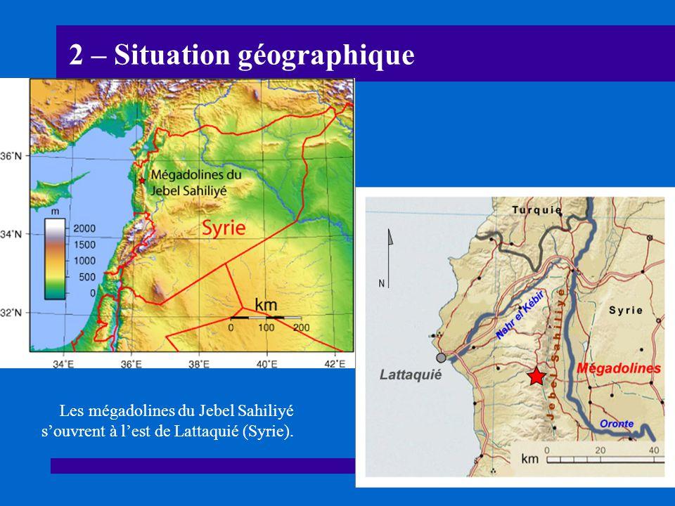 2 – Situation géographique