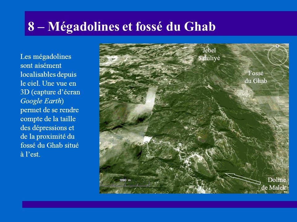 8 – Mégadolines et fossé du Ghab