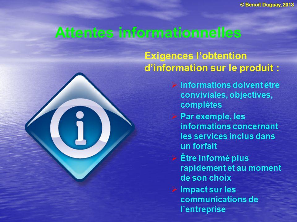 Attentes informationnelles