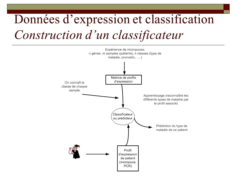 Données d'expression et classification Construction d'un classificateur