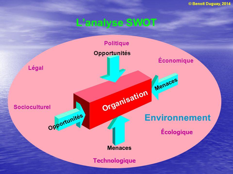 L'analyse SWOT Environnement Organisation Politique Opportunités
