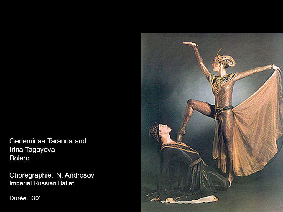 Chorégraphie: N. Androsov