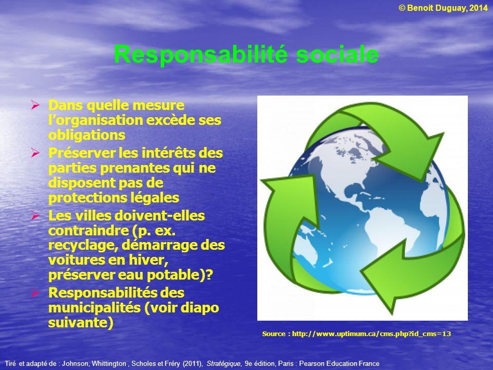 Responsabilité sociale